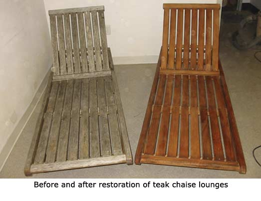 how to repair teak furniture 3