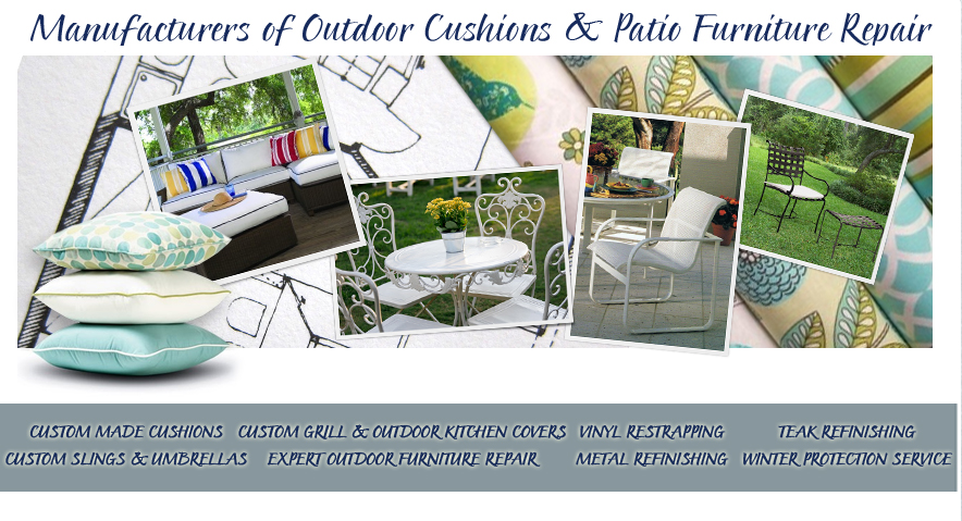 Outdoor Furniture Repair Long Island | Outdoor Cushions | Umbrella Repair